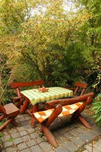Hangulatos őszi csendélet a Péceli úti kertben